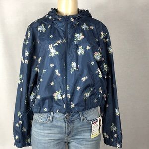 Wild Fable Floral Windbreaker